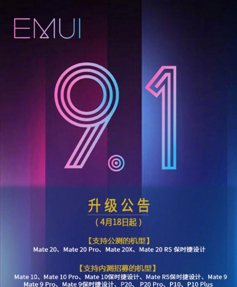 Tényleg olyan sok Huawei-re lesz EMUI 9.1? Nem olyan biztos!