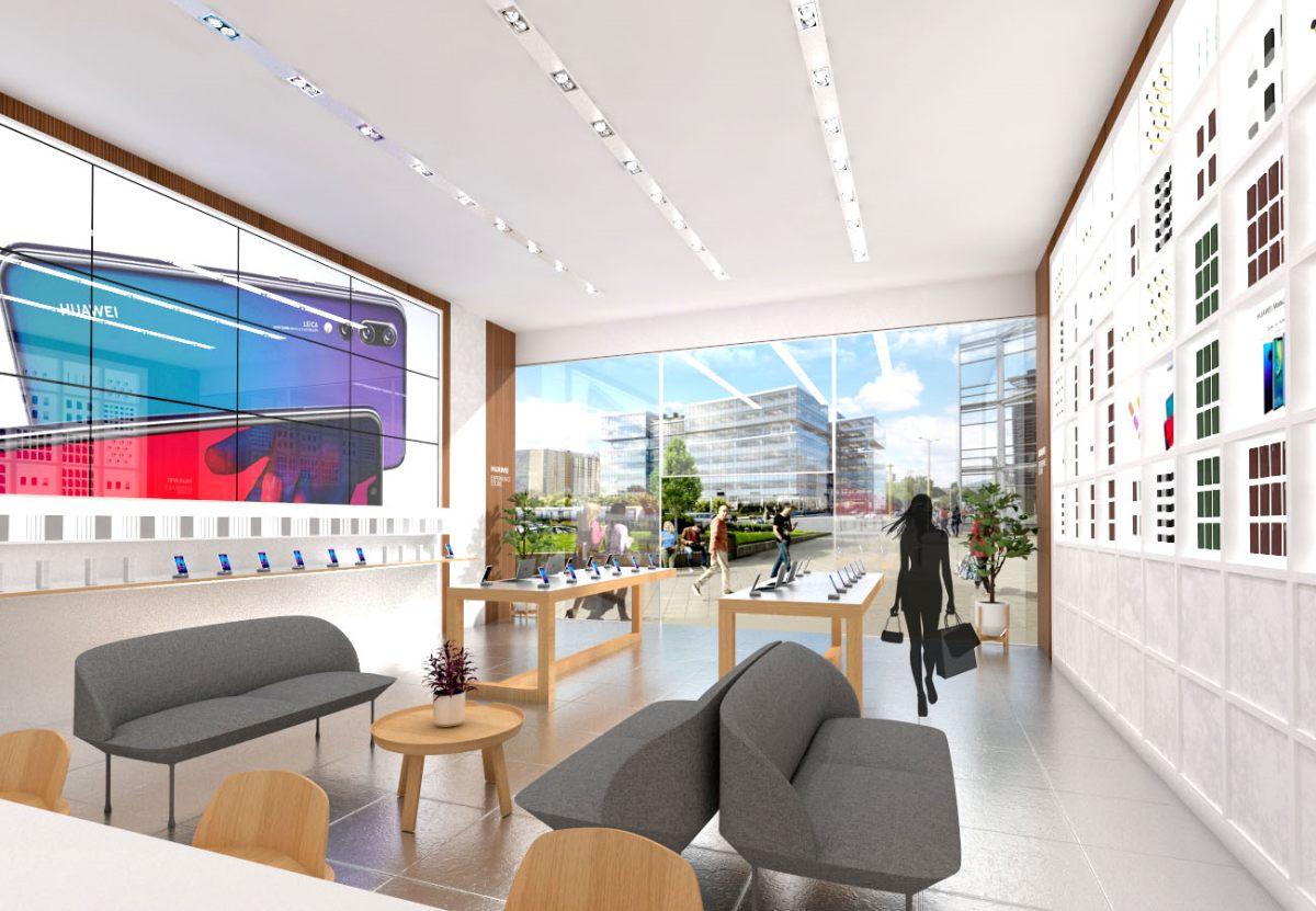 Huawei Experience Store HillSide Irodaház