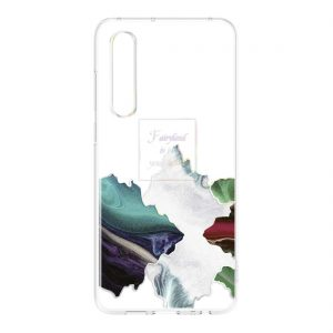 Huawei P30 Clear Case Glacial Fairland tok