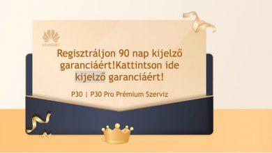 Április 15-ig lehet regisztrálni a P30-akat a kijelző törés garanciáért