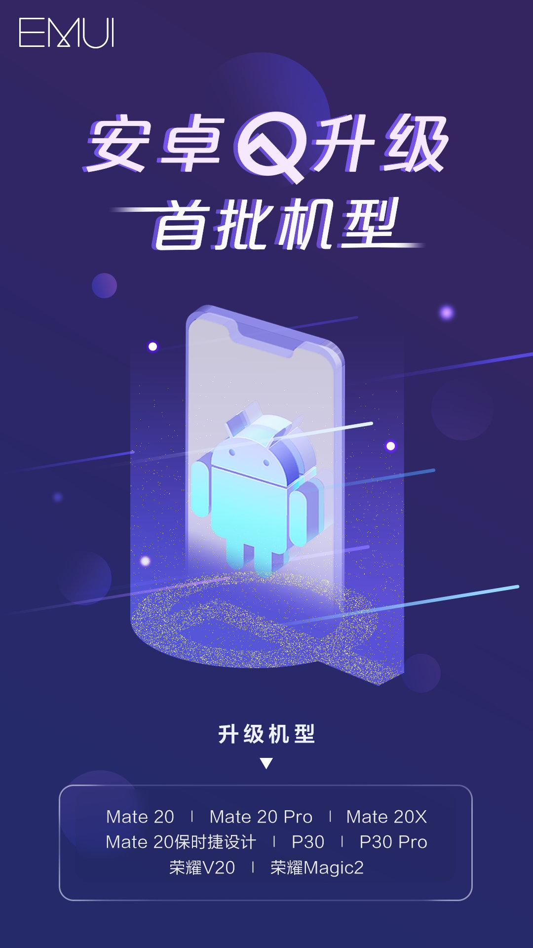 Hat Huawei-re készülhet már az Android 10 Q kiadás