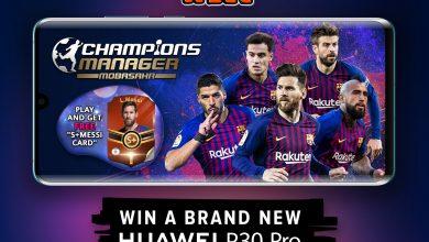 Nyerj egy Huawei P30 Prót a Champions Manager játékkal