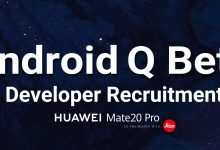 Huawei Mate 20 Pro Android Q Beta 3