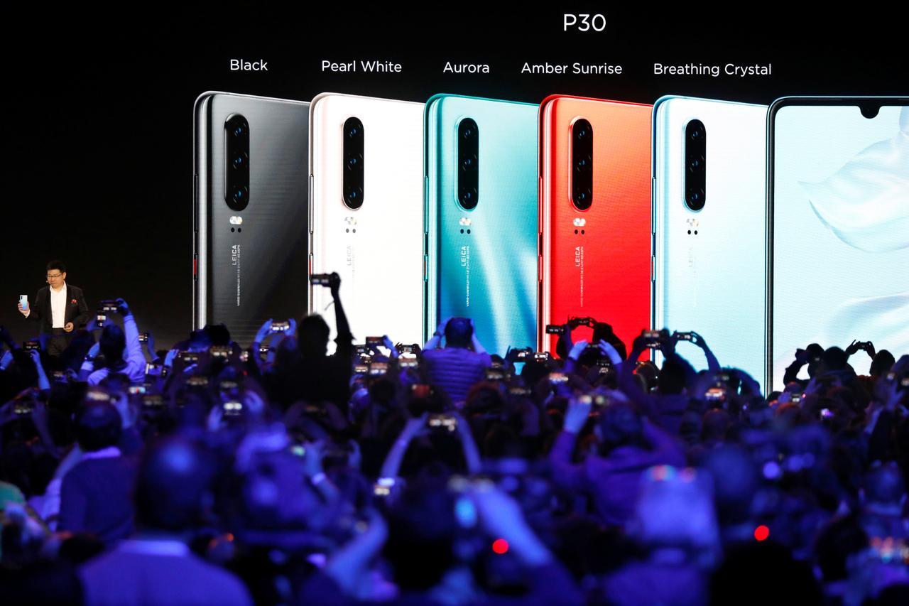 Huawei P30 bemutató, 2019. március 26., Párizs