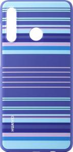 Huawei P30 Lite PC Case Striped BlueHuawei P30 Lite PC Case Striped Blue