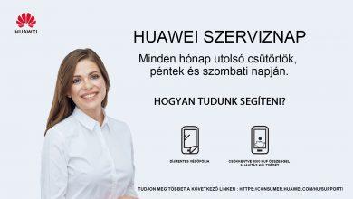 Huawei Szerviz Napok