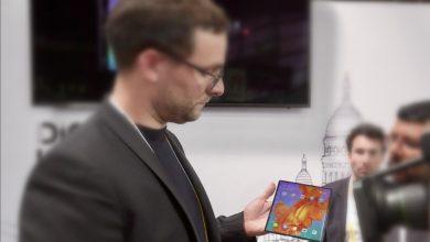 Párizsban bukkant fel a Huawei Mate X
