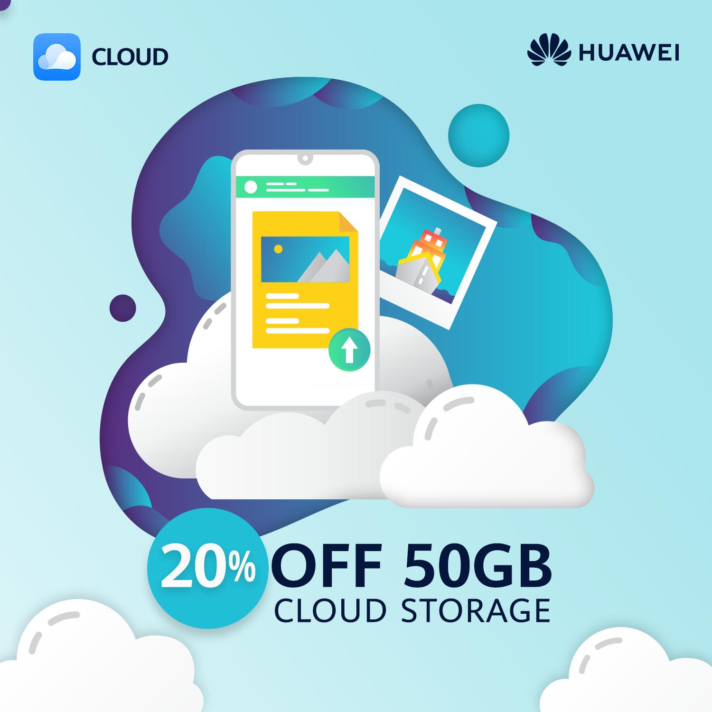 Akciós a Huawei Mobile Cloud előfizetés