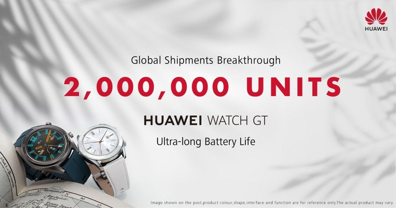 Már 2 millió Watch GT került piacra