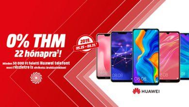 Engedményes áruhitel a Huawei telefonjaira