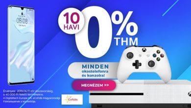 0% THM és Huawei akció a Notebook.hu-nál