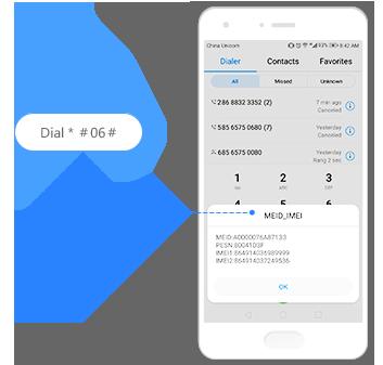 Így nézheted meg az IMEI számot a Huawei telefonodban