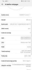 Huawei P Smart Z adatlap