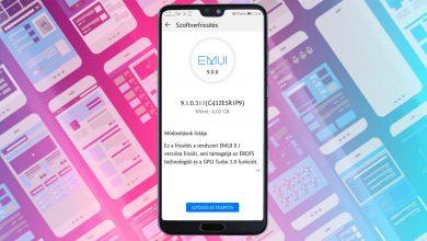 Megérkezett a Huawei P20 Pro EMUI 9.1 frissítése