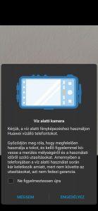 Huawei P30 Pro vízalatti búvártok bemutató