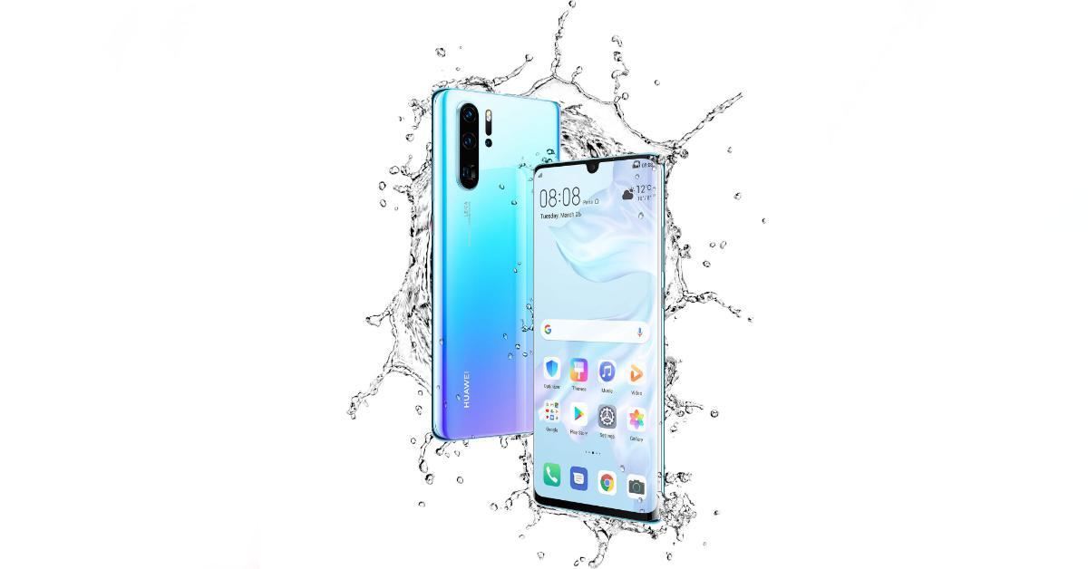 Huawei P30 Pro vízálló