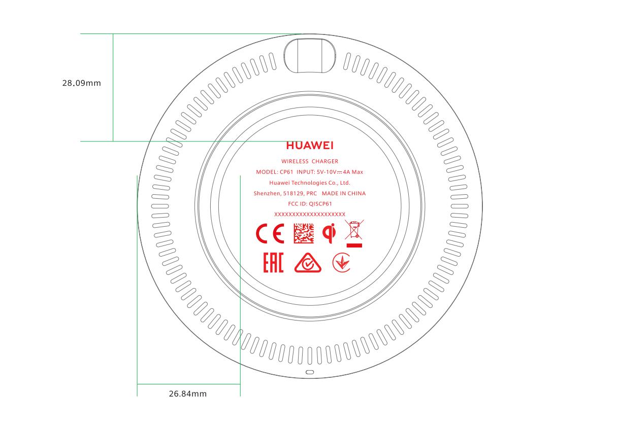 Huawei CP61 FCC