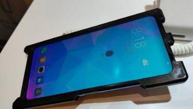 LCD kijelzőbe épített ujjlenyomat olvasós Huawei-t demóztak