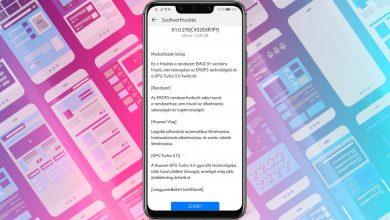 A Huawei Mate 20 Lite is EMUI 9.1 frissítést kapott