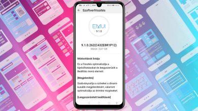Megjött a Huawei P Smart 2019 EMUI 9.1 frissítése