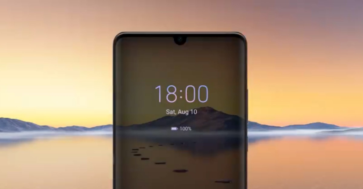 EMUI 10 a Huawei P30 Pro telefonon