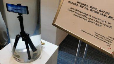 Még komolyabb vízállósági képességekkel rendelkező Huawei okostelefon prototípusa a HDC 2019-en