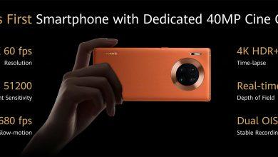 Huawei Mate 30 Pro 40 MP Cine Camera