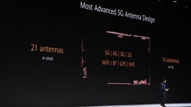 Összesen 21 antenna a Mate 30 Pro 5G-ben, ebből 14 csak az 5G-hez