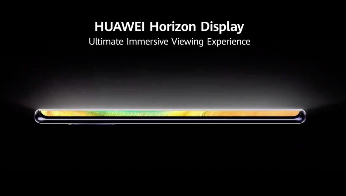 Huawei Horizon Display a Mate 30 Próban