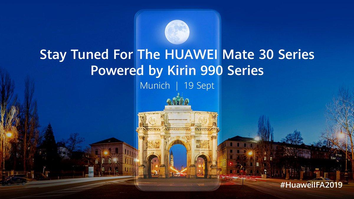 Kirin 990 szériát kap a Mate 30 sorozat