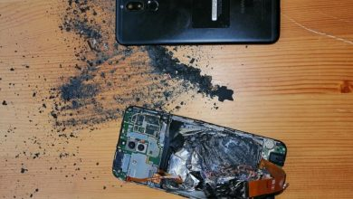 Kigyulladt a felpúposodott Huawei Mate 10 Lite akkumulátora