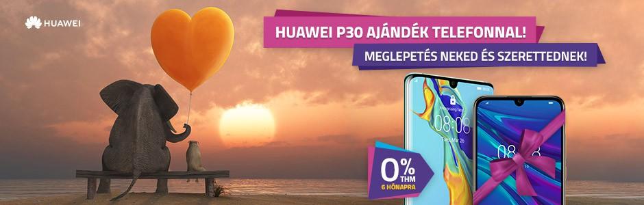 Huawei P30 és P30 Pro mellé ajándék telefon