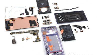 Huawei Mate 30 Pro: szétszedve