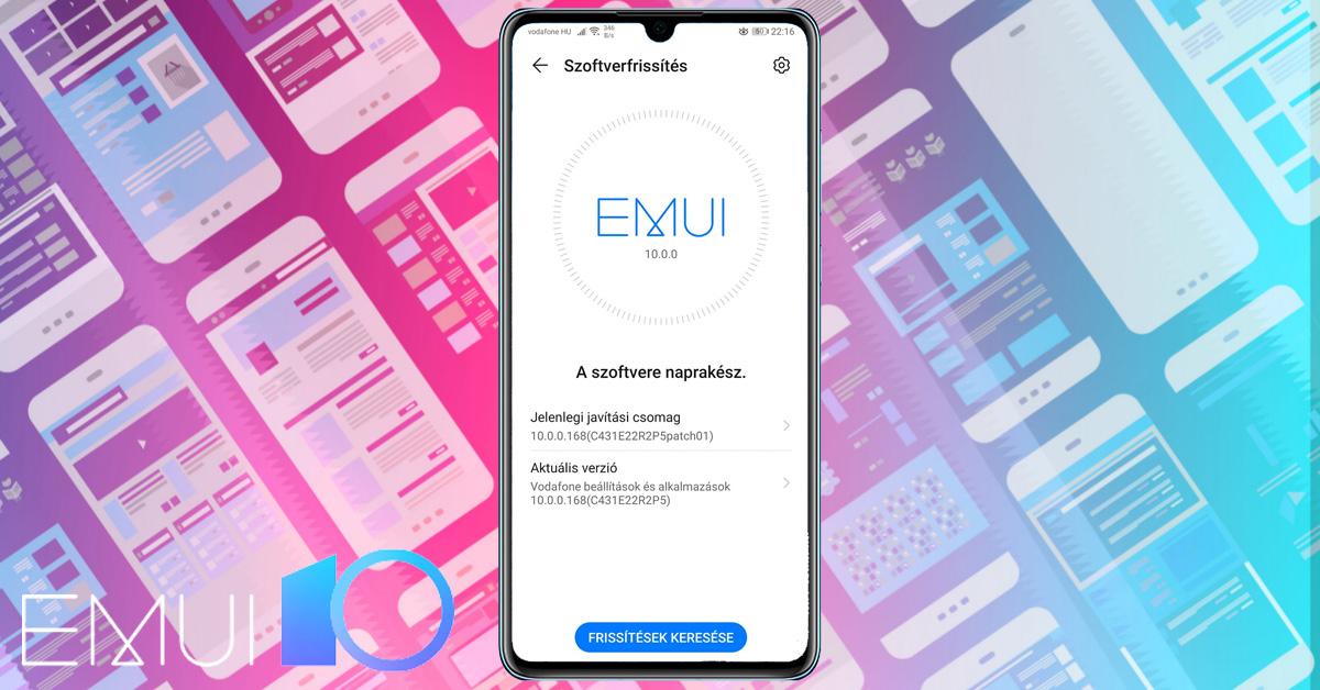 A Huawei P30 is EMUI 10-re és Android 10-re frissült