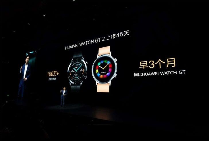 Már 1 millió Huawei Watch GT 2 felhasználó van