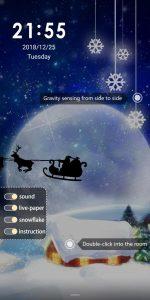 Gravity Panorama Christmas Eve