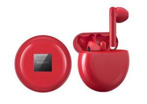 Huawei Freebuds 3 pirosban