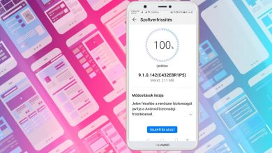 Itt a 142-es frissítés a Huawei P smart telefonra