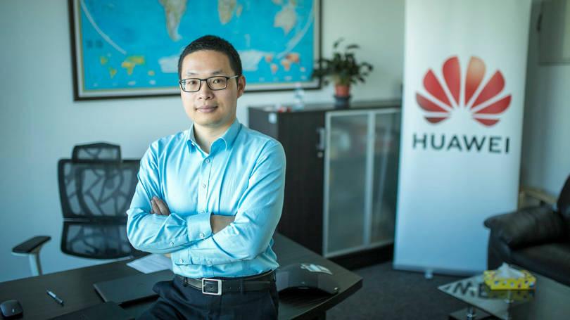 Wu Biqiang, a Huawei magyarországi leányvállalatának ügyvezet igazgatója. Fotó: Vémi Zoltán - Világgazdaság