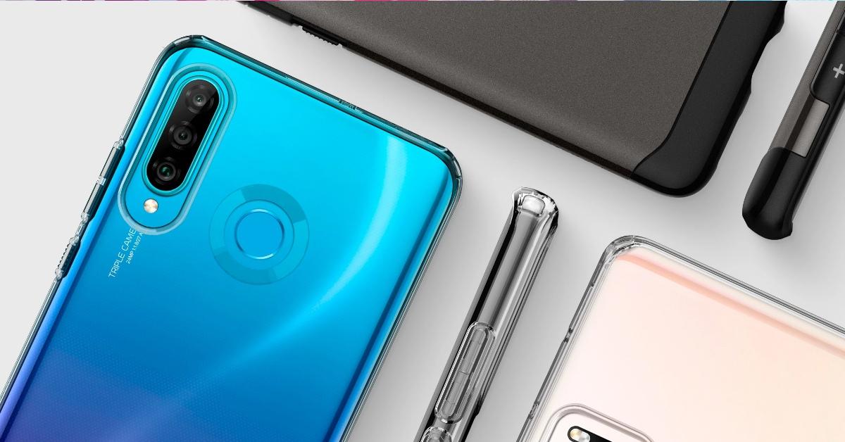 Spigen tokok a Huawei P30 Lite okostelefonra