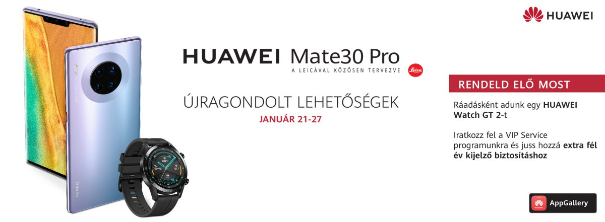 Huawei Mate 30 Pro magyarországi ár és vásárlás