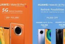 Terjeszkedik az 5G-s Huawei Mate 30 Pro