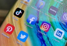 Élet a HMS-sel: közösségi média appok a Mate 30 Prón