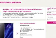 Ajándék Freebuds 3 a Huawei P30 Pro mellé a Telekomnál