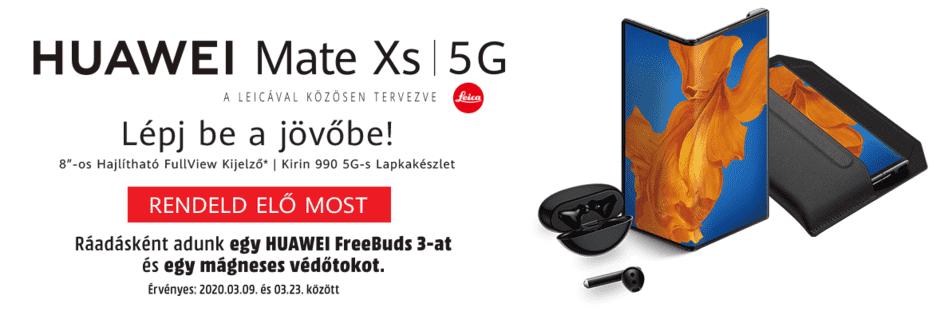 Magyarországon is előrendelhető a Huawei Mate Xs
