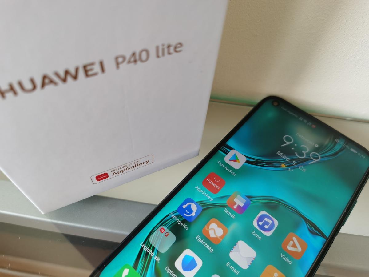 Így telepíthetsz Google Play-t a Huawei P40 Lite-ra
