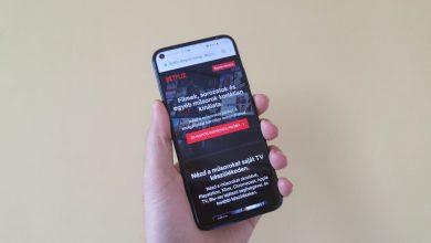 Netflix a Huawei P40 Lite-on