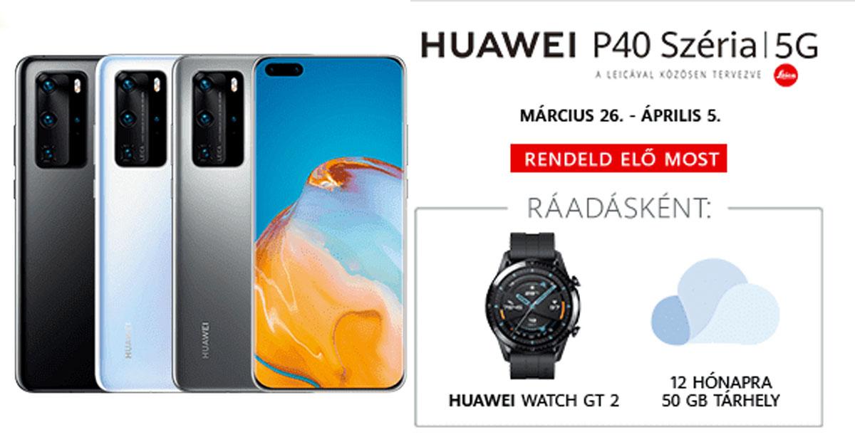 Huawei P40 Pro magyarországi ár és előrendelés