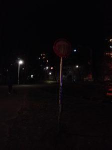 Huawei P8 Lite éjszaka