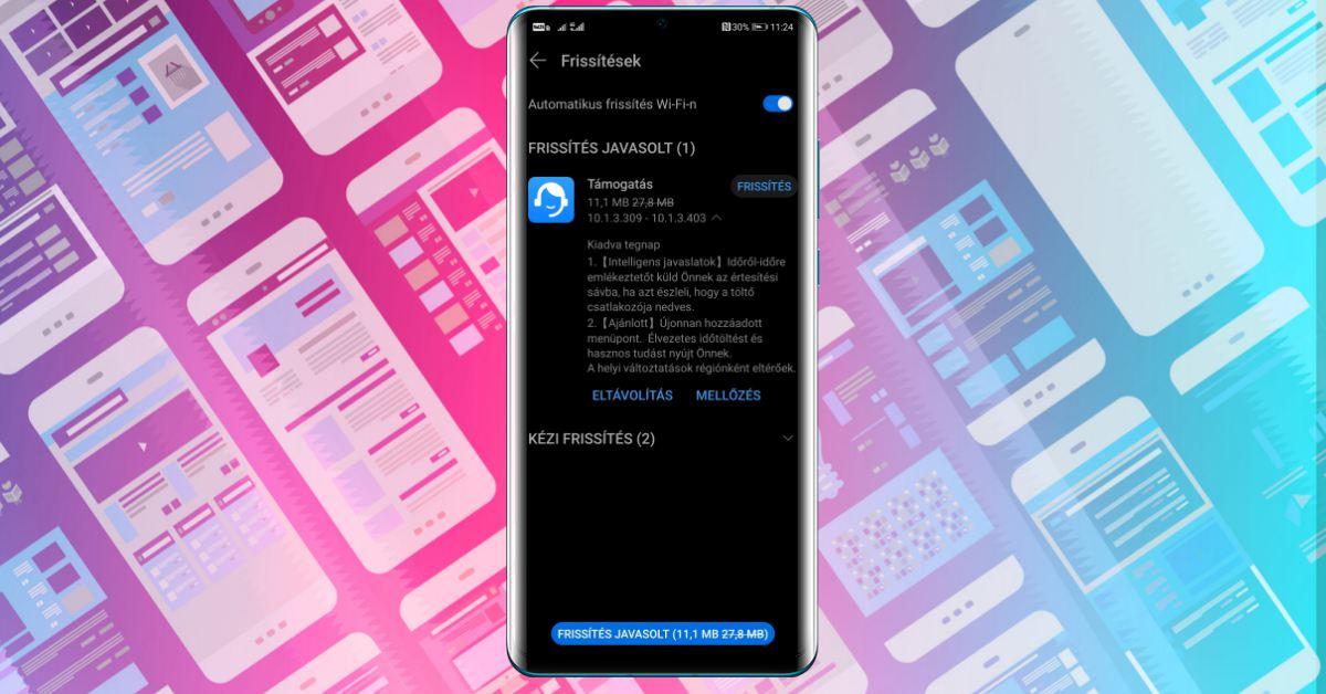 Hasznos új funkció a Huawei Támogatás alkalmazásban